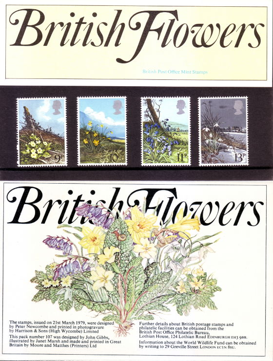 British Flowers Presentation Pack