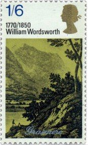 William Wordsworth stamp