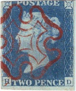 2d Blue Plate 1