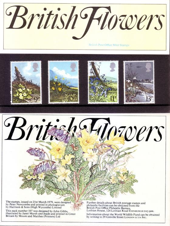 British Flowers Presentation Pack