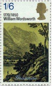 William Wordsworth stamp