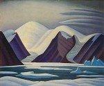 Greenland Mountains by Lawren Stewart Harris