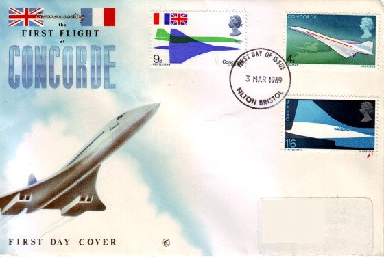 First Flight of Concorde