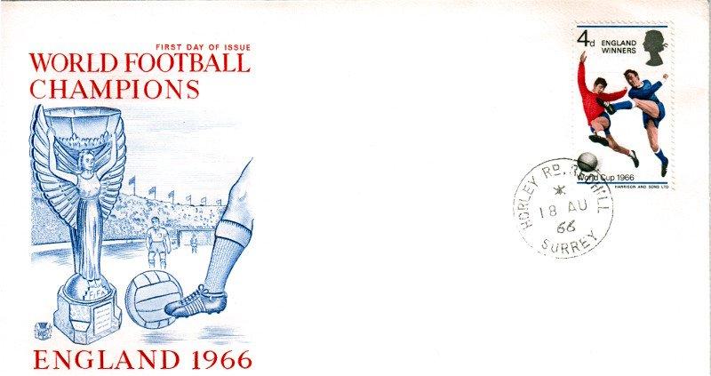 World Cup England Winners 1966