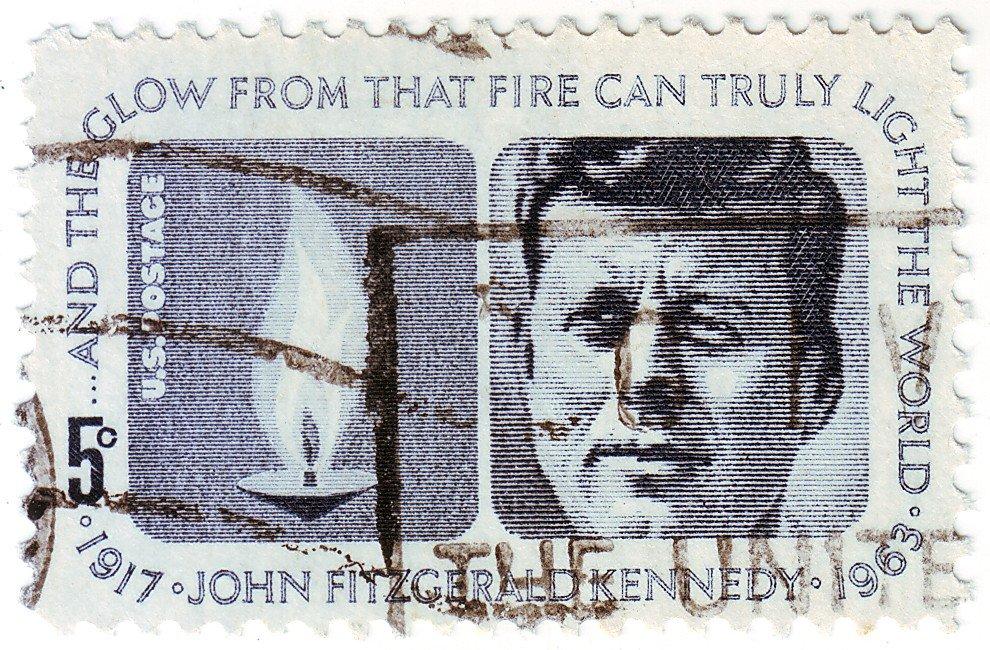John Fitzgerald Kennedy 1964 US Commemorative Stamp