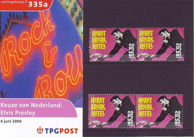 Dutch Elvis Presley Postage Stamps - 2006