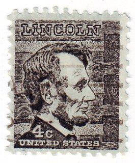 Abraham Lincoln US Postage Stamp