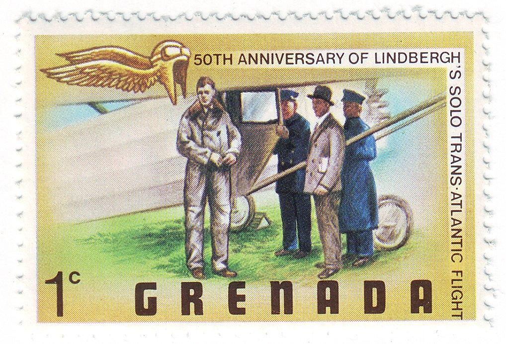 Grenada Lindbergh commemorative stamp - 1978