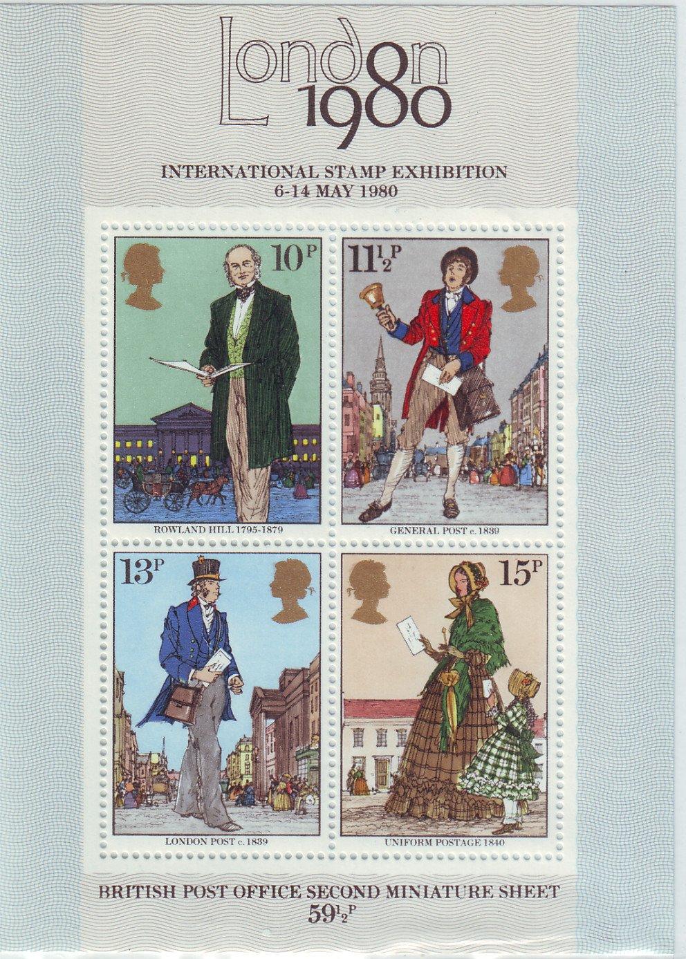 GB Miniature Sheet -1980