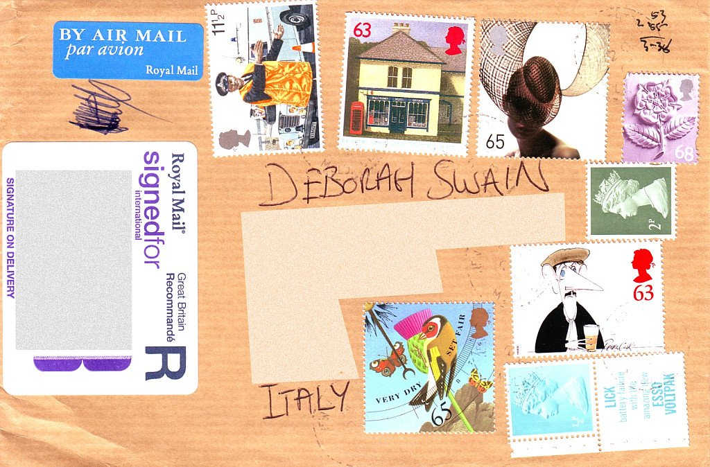 Crazy Stamp Mix on Cover