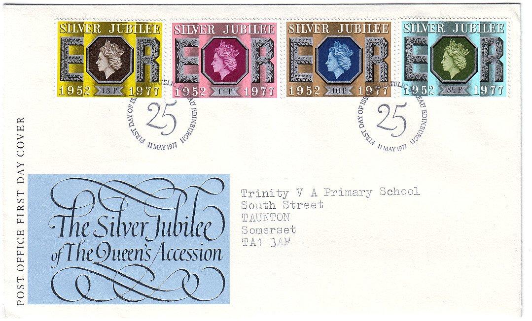 Queen Elizabeth II Silver Jubilee 1977- FDC